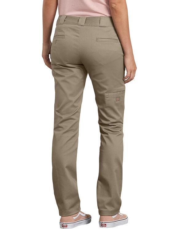 Pantalon à genoux renforcés de coupe ajustée pour femmes - Desert Khaki (DS)