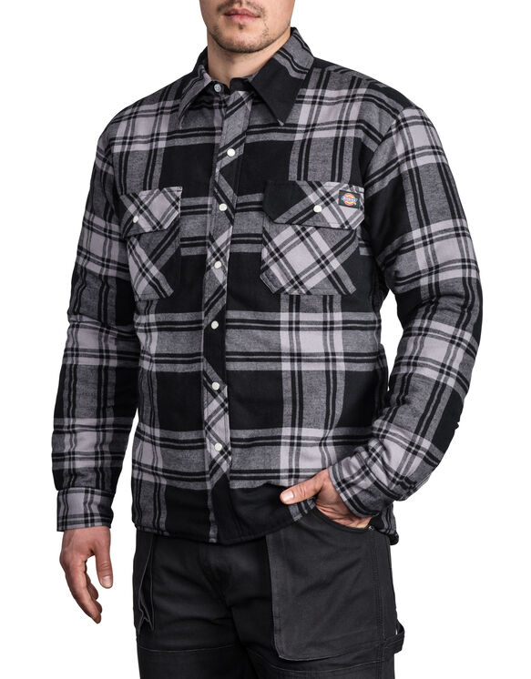 Quilted Snap Front Plaid Shirt - TRAD OPTION 1 COLORWAY 006 F17 (CH4)