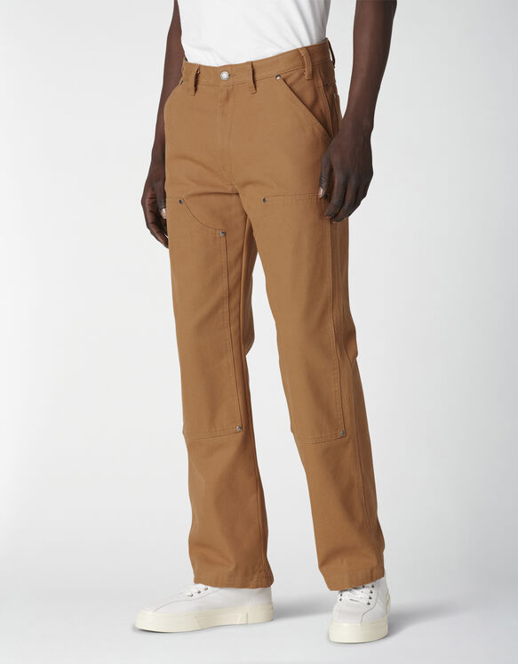 Duck Canvas Double Front Pants - Stonewashed Brown Duck (SBD)