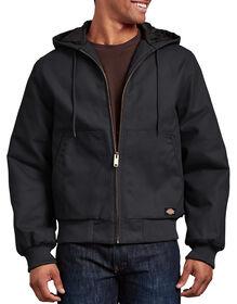 Veste en toile rigide avec capuchon - Noir (BK)