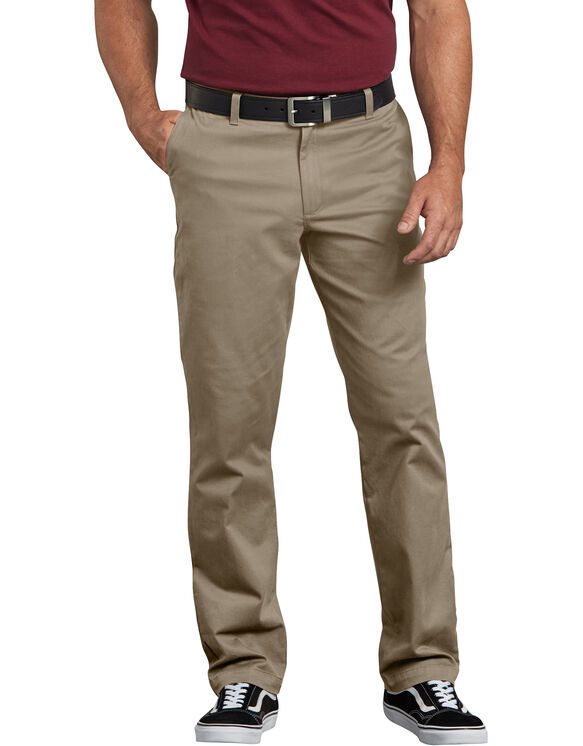Dickies X-Series Regular Fit Washed Chino Pants - Desert Khaki (RDS)