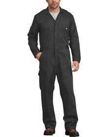 Cotton Long Sleeve Coveralls - Black (BK)
