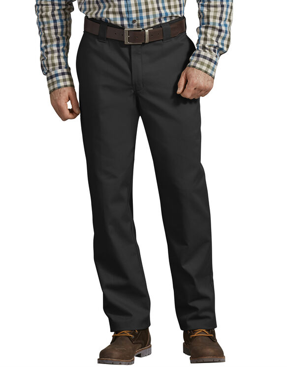FLEX Active Waist Regular Fit Work Pants - Black (BK)