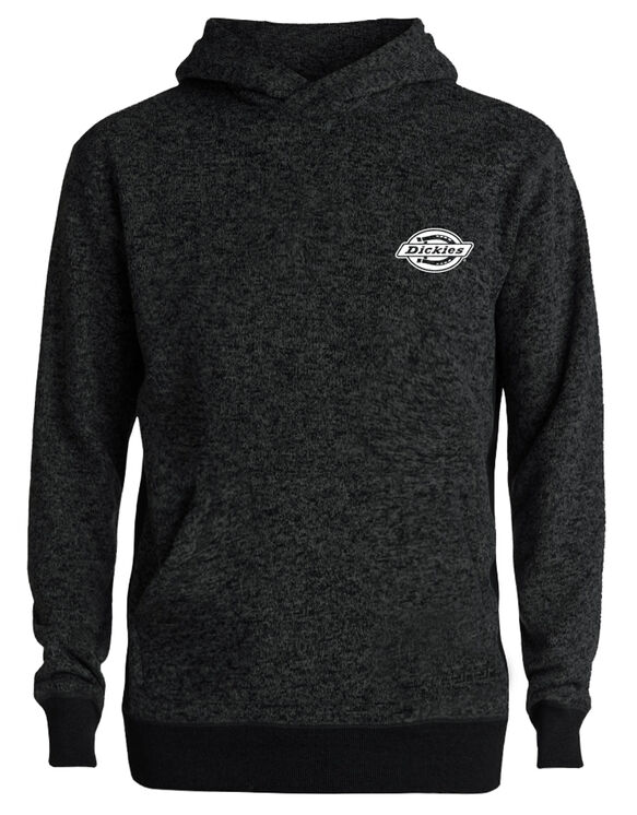 Men's pullover hoodie embroidery Dickies logo - Black (BK)