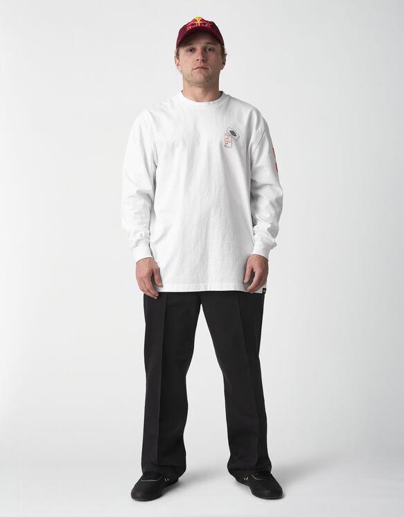 T-shirt à manches longues JamieFoy - White (WH)