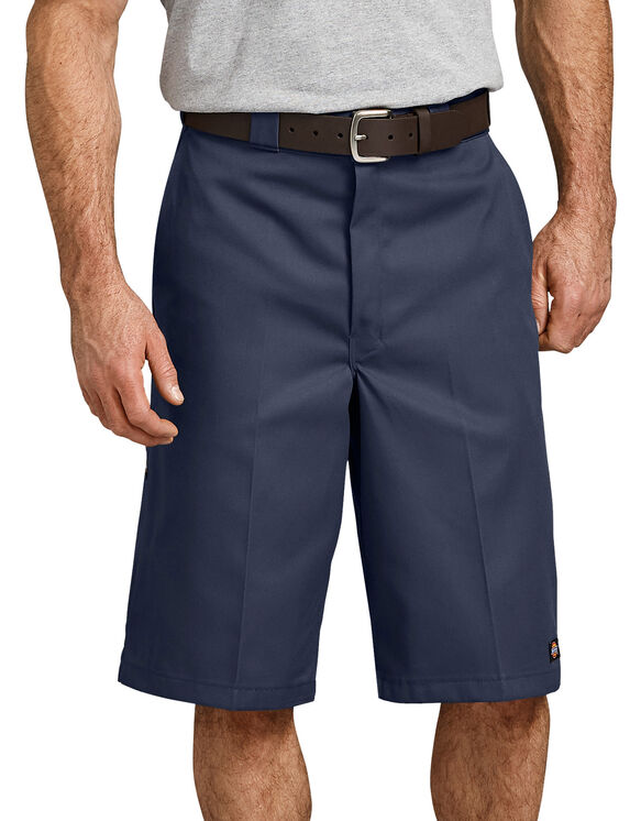 "13"" Loose Fit Multi-Use Pocket Work Short - Navy Blue (NV)"