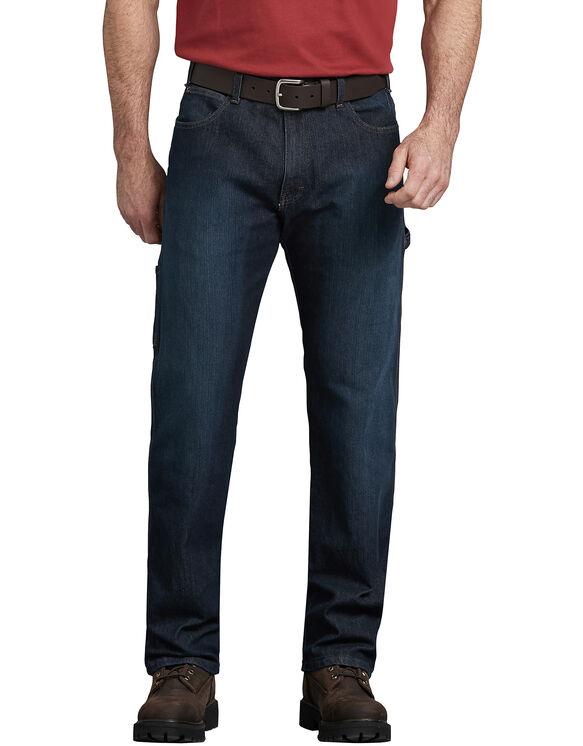 Tough Max™ Relaxed Fit Straight Leg 5-Pocket Carpenter Denim Jean - Dark Blue Wash (TDW)