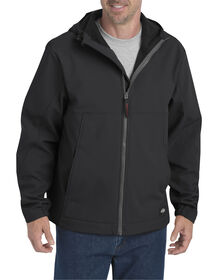 Flex Softshell Jacket with Hood - Black (BK)