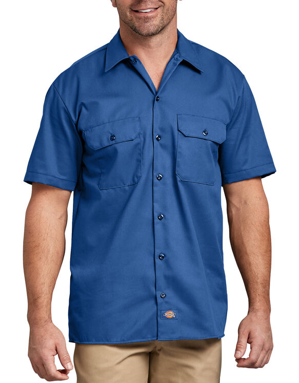 Short Sleeve Work Shirt - Royal Blue (RB)