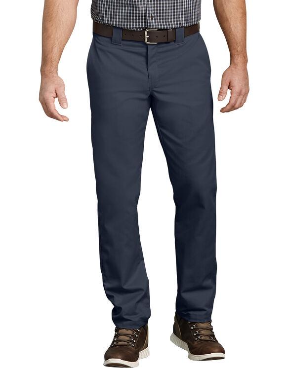 Pantalon de travail FLEX à poche multi-usage, coupe ajustée et jambe fuselée - Dark Navy (DN)