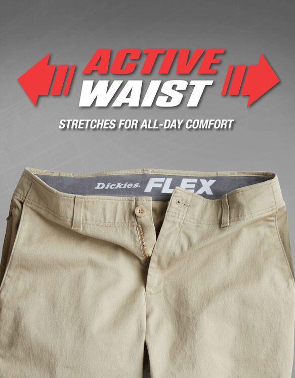 Pantalon chino X-Series adouci par traitement et à ceinture adaptable - Rinsed Black (RBK)