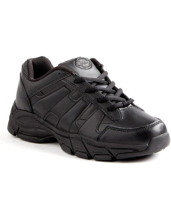 Women's Slip Resisting Athletic Lace Work Shoes - Black (FBK)