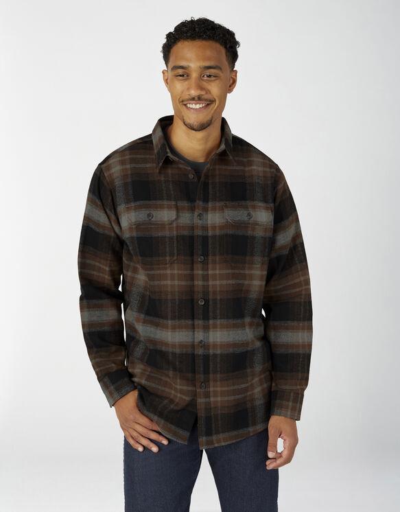 Chemise à manches longues en flanelle épaisse - Timber Plaid (T1P)