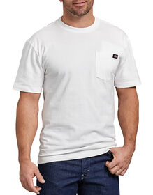 Short Sleeve Heavyweight Crew Neck Tee - WHITE (WH)