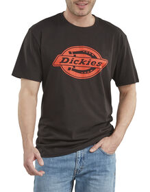 Short Sleeve Relaxed Fit Graphic T-Shirt - Black (BK)
