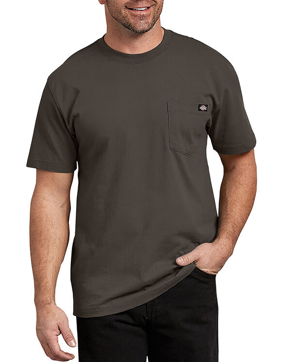 Short Sleeve Heavyweight Crew Neck Tee - Black Olive (BV)