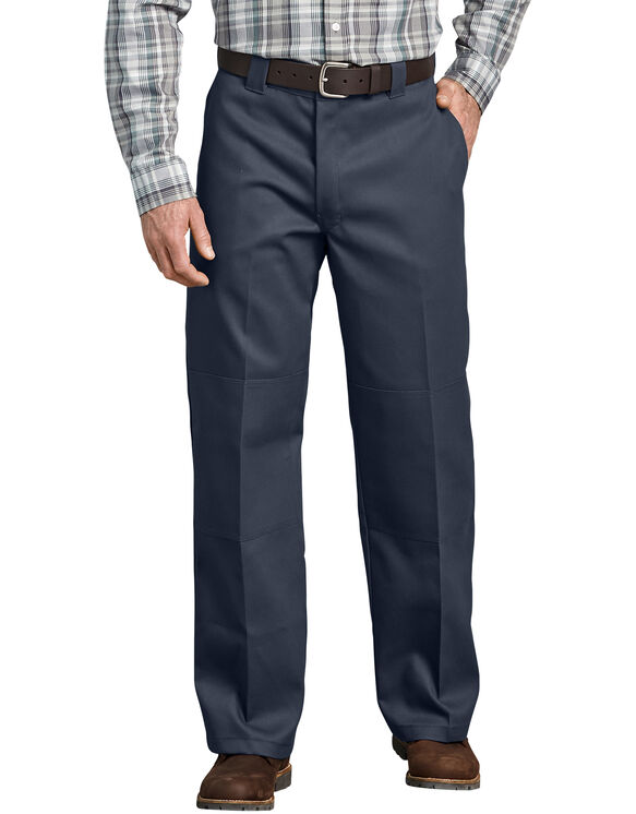 FLEX Loose Fit Double Knee Work Pants - Dark Navy (DN)