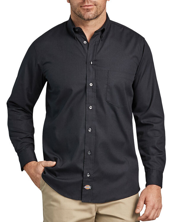Chemise renforcée à manches longues Flex Comfort - Noir (BK)