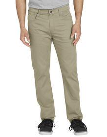 Pantalon à 5 poches FLEX à jambe fuselée - Desert Khaki (RDS)
