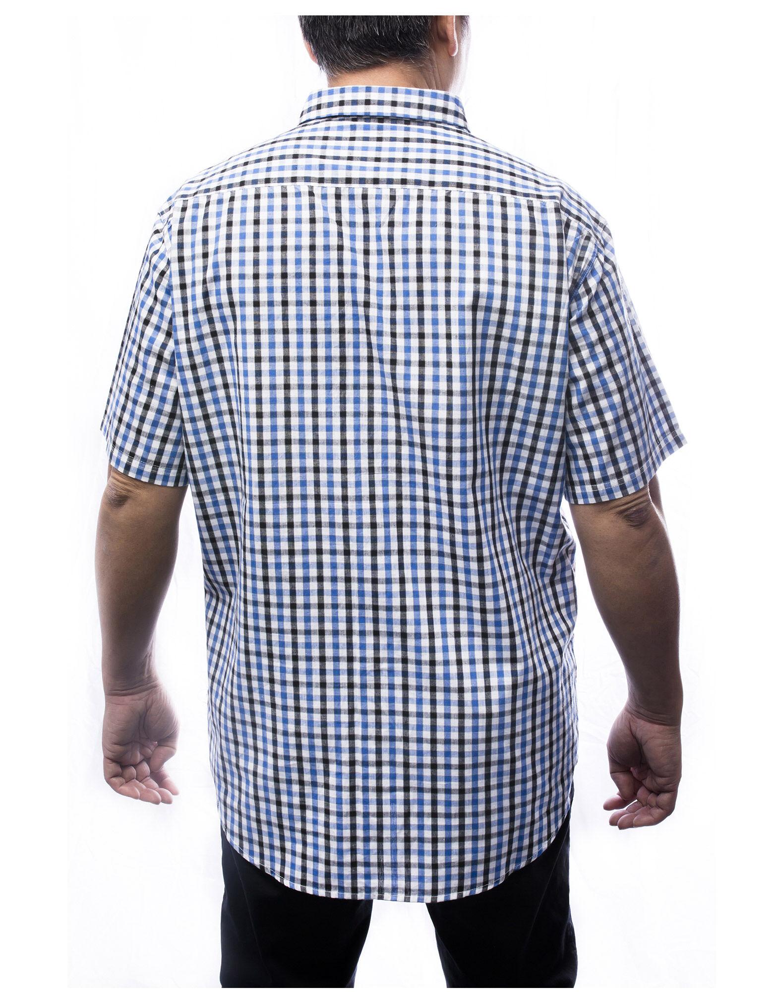 Everyday men 39 s short sleeve plaid shirt dickies canada for Dickies short sleeve plaid shirt