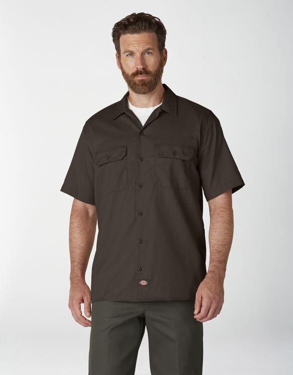 Chemise de travail à manches courtes - Dark Brown (DB)