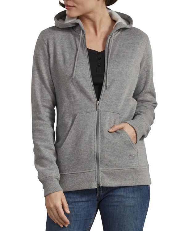Veste à capuchon avec fermeture éclair pour femmes - Mid Gray Heather (MYH)