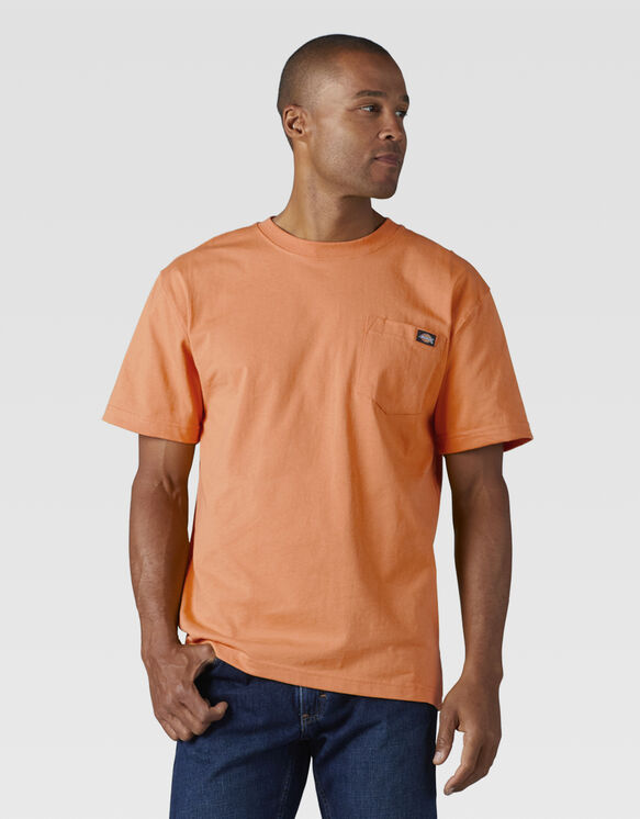 Short Sleeve Heavyweight T-Shirt - Cantaloupe (AA)