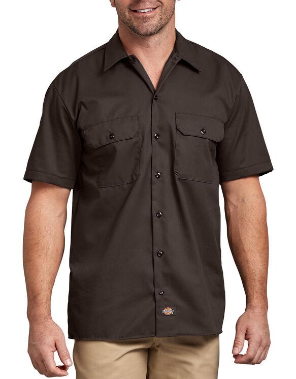 Short Sleeve Work Shirt - Dark Brown (DB)