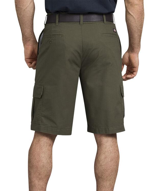 """11"""" Tough Max™ Ripstop Cargo Shorts - Moss Green (RMS)"""