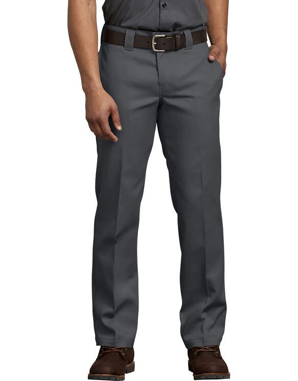 FLEX Slim Fit Straight Leg Work Pants - Charcoal Gray (CH)