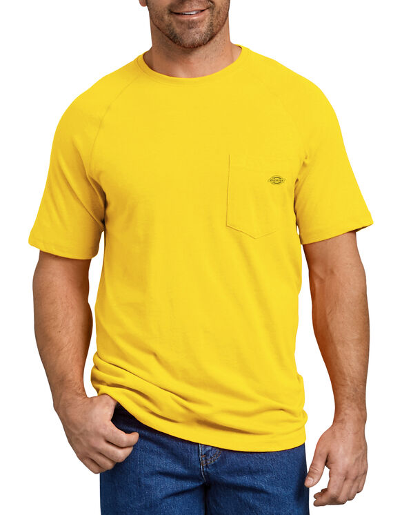Temp-iQ™ Performance Cooling T-Shirt - Bright Yellow (BWD)