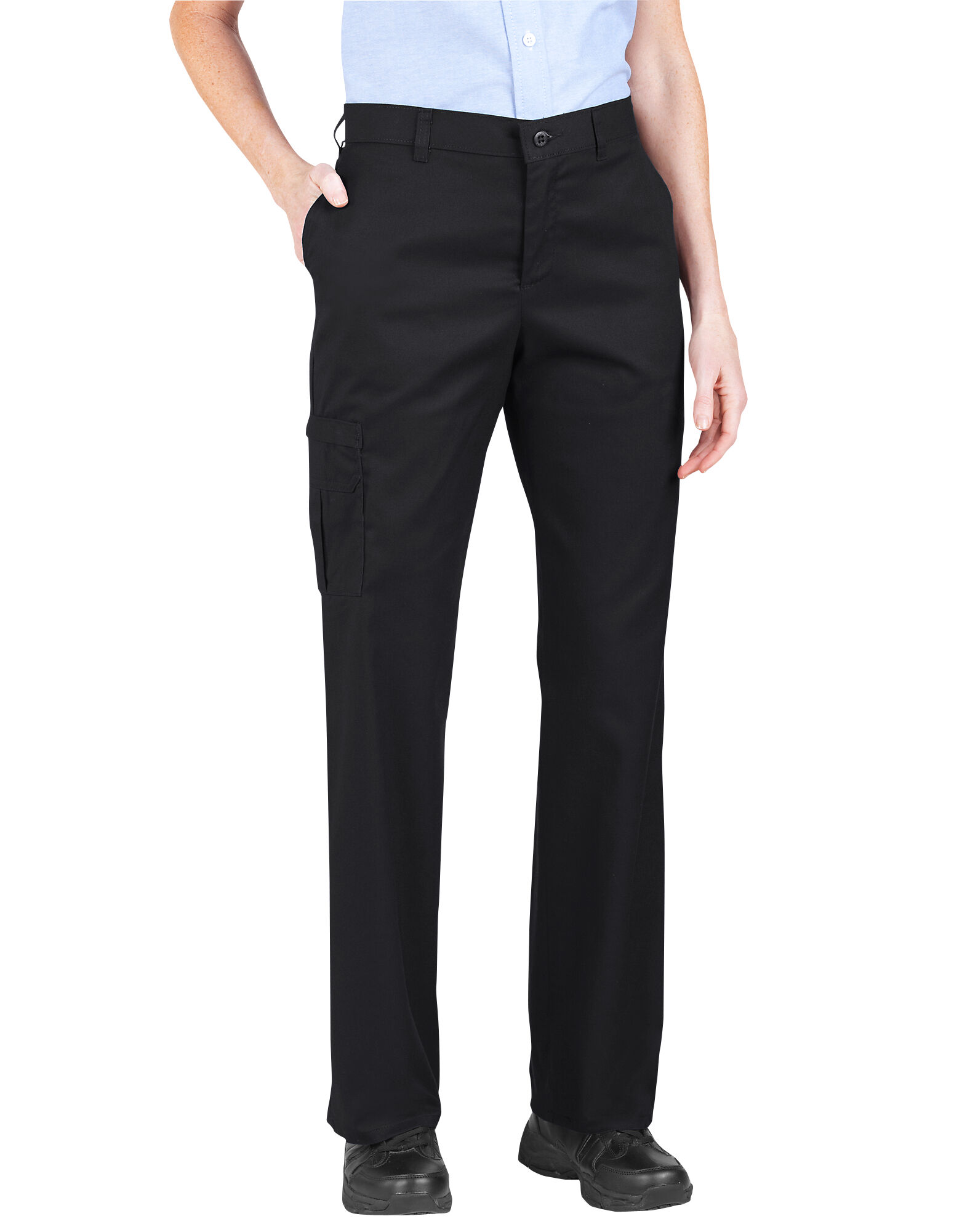 Dickies Women/'s Premium Relaxed Straight Cargo Pan Choose SZ//color