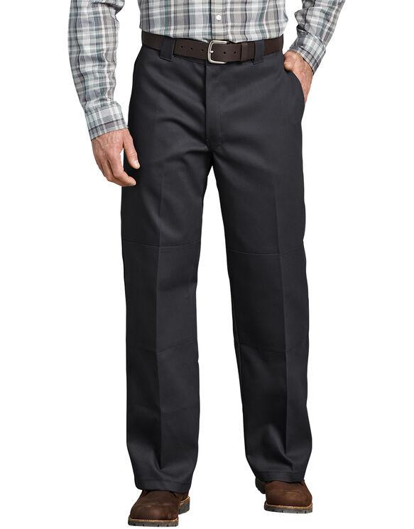 Pantalon de travail FLEX de coupe ample à genoux renforcés - Black (BK)