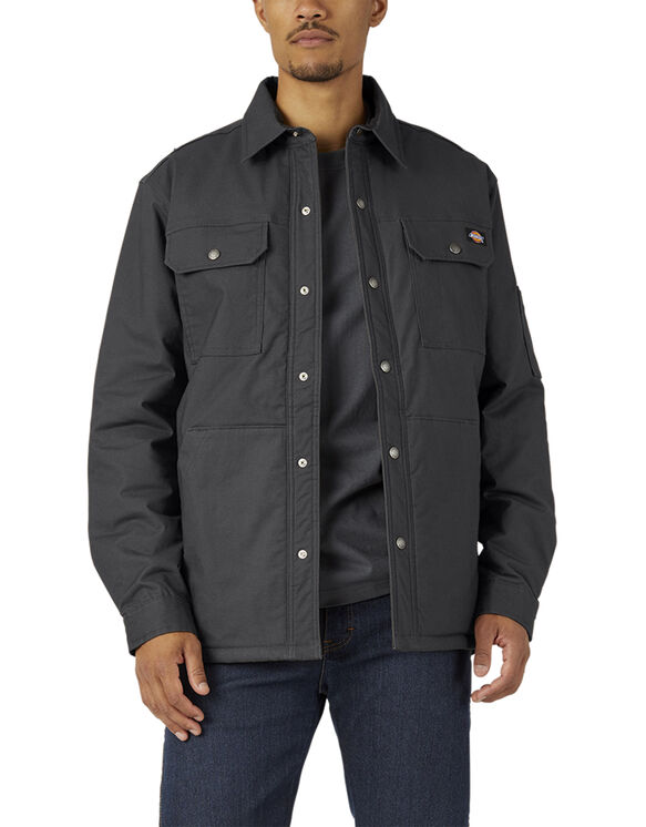 Flex Duck Shirt Jacket with Hydroshield - Black (BK)