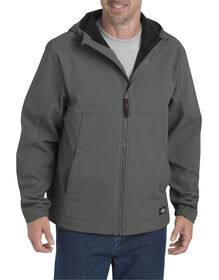 Flex Softshell Jacket with Hood - Gravel Gray (VG)
