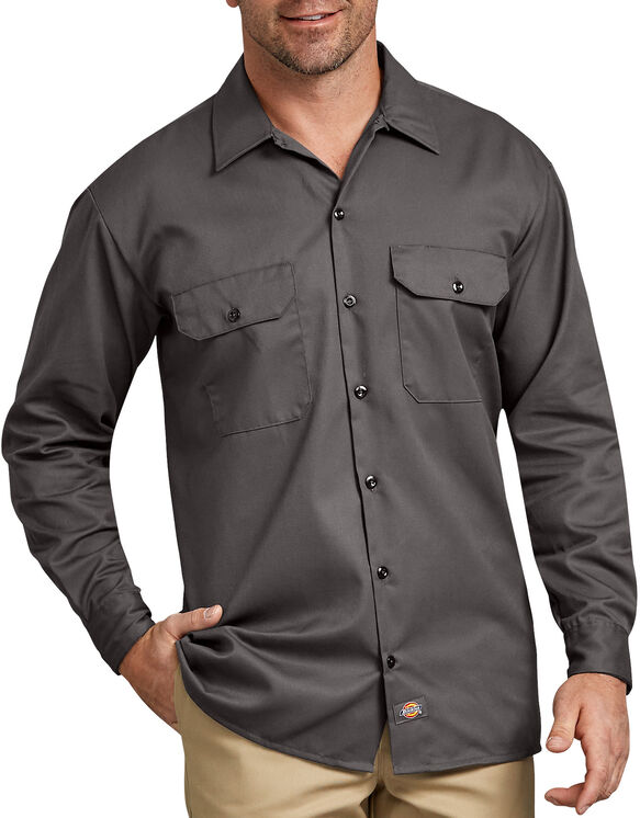 Long Sleeve Work Shirt - Gravel Gray (VG)