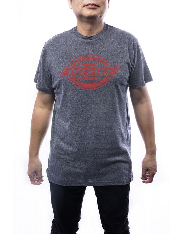 T-shirt à manches courtes avec logo pour hommes - Marine (NVY)