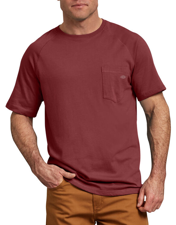 T-shirt de Performance Refroidissant Temp-iQ™ - Cane Red (CN)