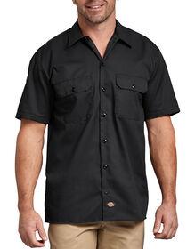 Chemise de travail à manches courtes - Black (BK)