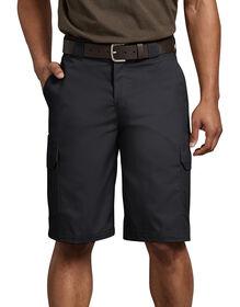 """Flex 11"""" Regular Fit Cargo Short - Black (BK)"""