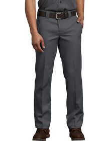 FLEX Slim Fit Straight Leg Work Pants - Charcoal Gray (CH)