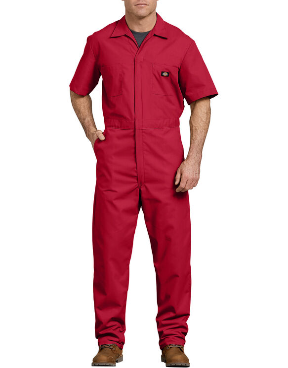 Short  Sleeve  Coverall  - Red (RD)