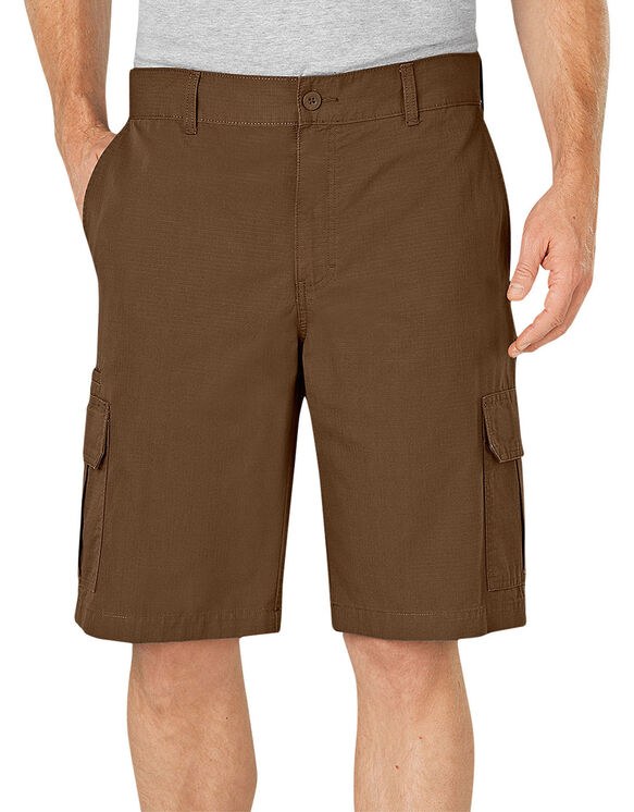 "11"" Relaxed Fit Lightweight Ripstop Cargo Short - Timber Brown (RTB)"