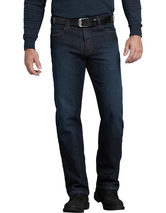 Jeans à 5 poches Tough MaxMC en denim coupe standard jambe droite - TUMBLED DARK WASH (TDW)