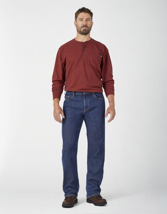 Jeans à 5 poches Temp-iQ® en denim chaud - Stonewashed Indigo (SIWR)
