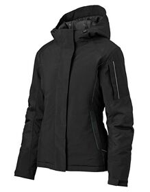 Women's Performance Workwear Insulated Waterproof Jacket - Black (BK)