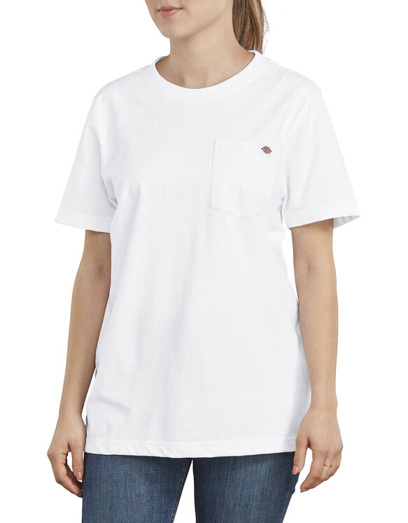 T-shirt épais pour femmes - White (WH)