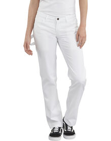 Women's FLEX Painters Utility Pants - White (WH)