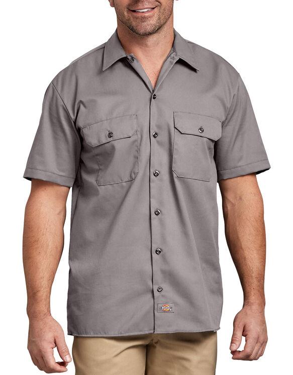 Short Sleeve Work Shirt - Silver (SV)