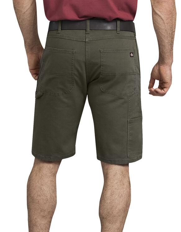 "11"" Tough Max™ Duck Carpenter Shorts - Stonewashed Moss Green (SMS)"